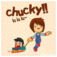 Chucky lalala by mclelun