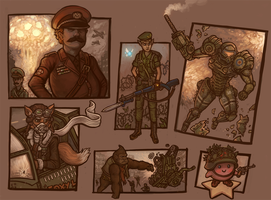 Super World War Brothers by CyborgNecromancer