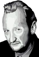 Robert Englund Vector by predator-fan