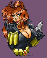 B is for Black Widow. by Kenji-Seay