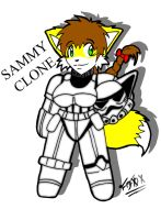 SAMMY CLONE TROOPER by f0x-b0y