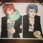 Bleach and DGM - Grimmjow and Lavi by NemesiHouseburns