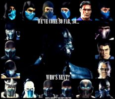Mortal Kombat X - SUB ZERO'S EVOLUTION by StainBreak