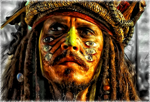 Captain Jack Sparrow by kruemel-sangerhausen