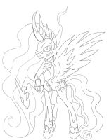 Make Evil Celestia pen by daylover1313