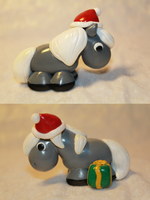 Christmas Pony (Steel Grey) for SALE by AnimalisCreations