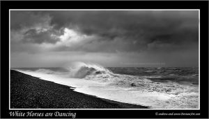 White Horses are Dancing by Andrew-and-Seven