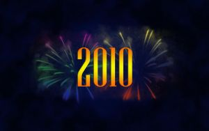 Happy New Year 2010 widescreen by whiteroselady