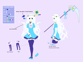 Clover Angel - Character Sheet by Kusumiii