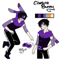 [HP OC] Cheshire Bunny Ref by PocketChocolate