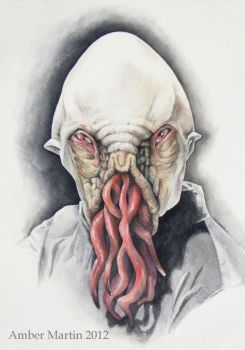 Portrait of an Ood by abstractartistic