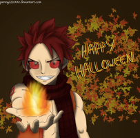 Happy Halloween From Natsu by penny222000