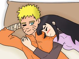 NaruHina: A day to relax by TeamBlueCoin