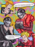 Ichigo, Vash and Power Ranger? by TipsyMcBoozerton