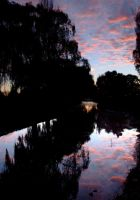 Sunrise on the Avon river by mark-flammable