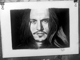 Johnny Depp by ZeorosKiza