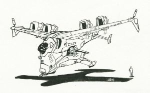Karic Gunship 2010 by Tekka-Croe
