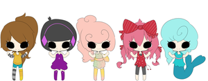 My Oc's by All-G