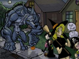 halloween by ham and trish by hamdiggy