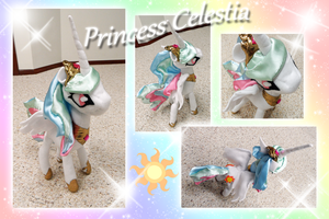 Princess Celestia Plushie by StickFreeks