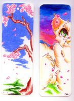 .:Warrior-Cat Bookmark 1:. by foxberrystudios