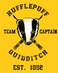 Hufflepuff Quidditch by spacemonkeydr