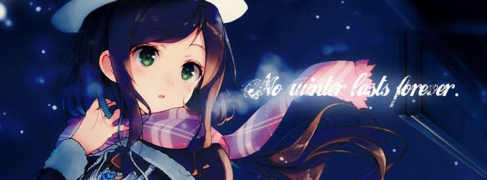 Facebook cover - For winter by mark1805