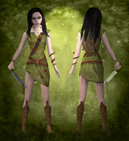 AliceHunter wip1 by tombraider4ever