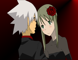 .:Soul x Maka Dance:. by GreedXIII