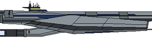 Mass Effect Jakarta Class Light Cruiser by Seeras