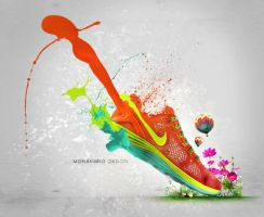 Fake NIKE ad. by alsarab