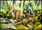 Jungle Friends by rokudaim