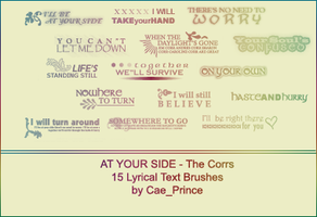 At your side - The Corrs by artsy-cae