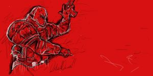 Army of Two Sketch by bladz56
