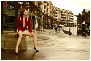 Kathryn - wharf red 3 by wildplaces