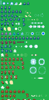 8-Bit MM RE-Sprite Sheet by Availation