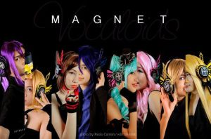 Magnet Vocaloids Wallpaper by angelkissu