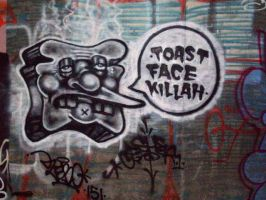 Toast Face Killah by GelatinousPee
