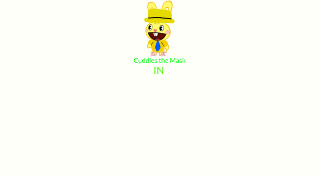 Make Your Own Cuddles the Mask Episode by ZootopiaFan1