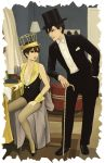Haruhi and Kyoya in the Broadway Melody (Colored) by feboee