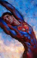 Superman by Olga-Tereshenko