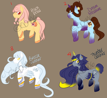 Pony Adoptables1 -CLOSED- by Rd4066