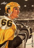 Mario lemieux Leaf Best of Hockey sketch card colo by therealbradu