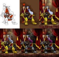 stages of Mafia Warlord by AstroHelix