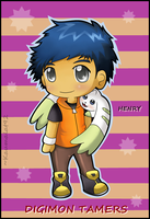 Henry-Digimon Tamers by Km92