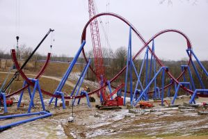 Banshee (under construction) - Kings Island Ohio by Phi1997