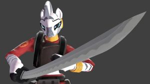 Samurai Demoknight Zecora by NMaster90