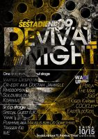 Poster for Revival Night by Armidas