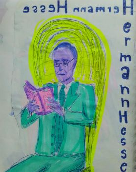 Hermann Hesse by spacelessness