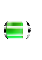 Battery, inspired by iOS battery icon by jecw